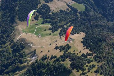 2011 Ozone Rush 2 L Glider Paraglider Wing Paragliding Fly EN-B 100-120kg