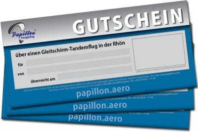 Gleitschirm-Tandemflug Rhön