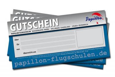 Gutschein Papillon Gleitschirm-Kombikurs