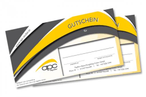 """Stubai Tandemflug-Gleitschirm-Gutschein """"Elfer"""""""