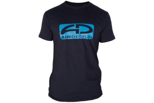 Airdesign T-Shirt Blau