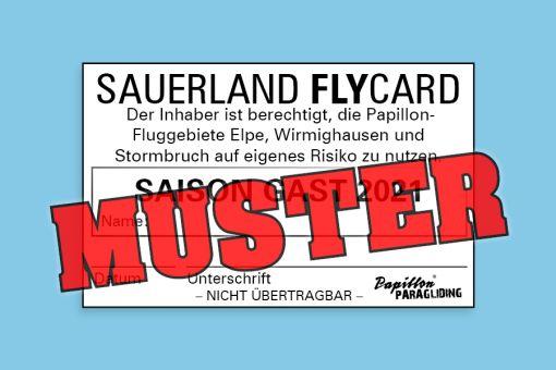 Sauerland FlyCard SAISON 2021 GAST