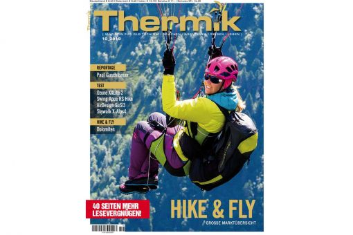Thermik Magazin 10/2019 HIKE & FLY