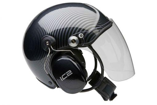 Icaro TZ carbon-optic UL helmet
