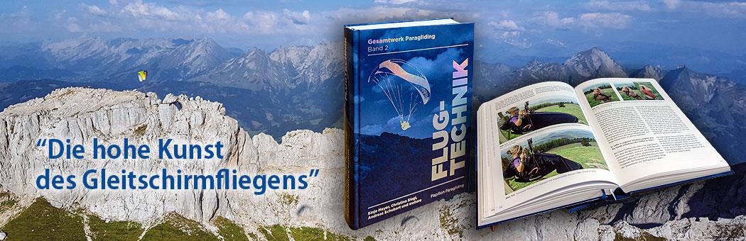 Gesamtwerk Paragliding - Band 2: Flugtechnik