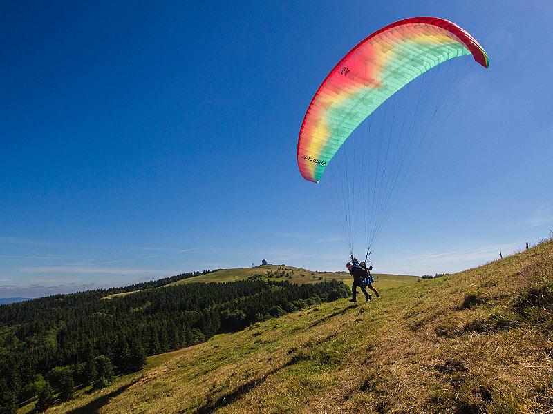 Paragliding Tandem Wasserkuppe